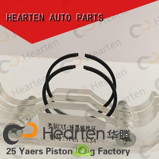 HEARTEN long lasting plastic piston rings iron for gasoline engine