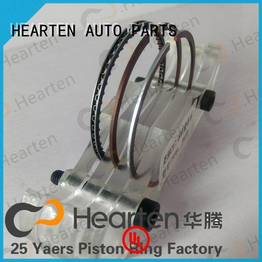 HEARTEN motorcycle piston rings nitriding sealing suitable rings