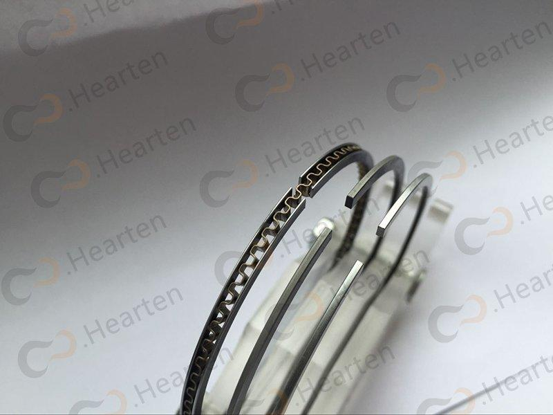 HEARTEN sealing strong chromium motorcycle piston rings nitriding