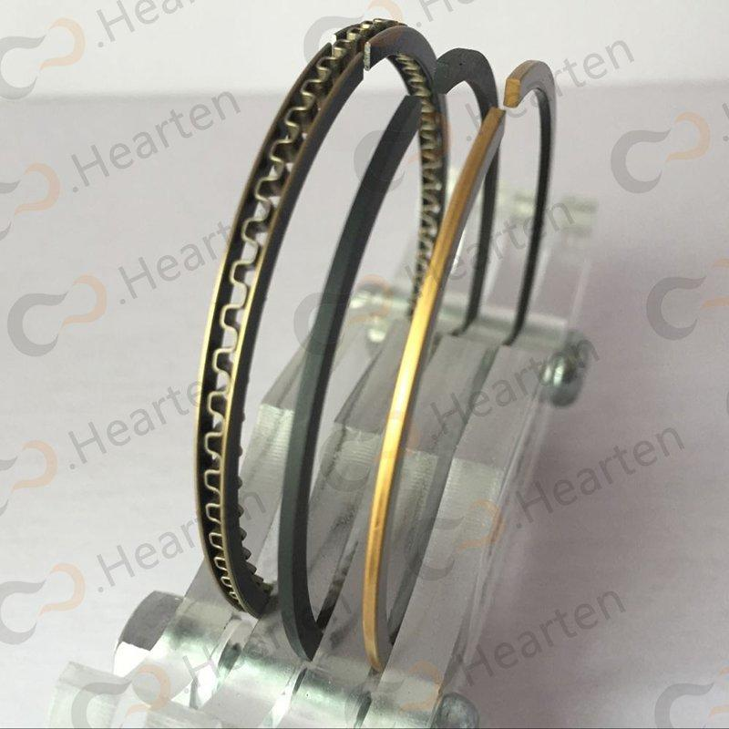 Titanium piston ring