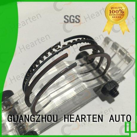 HEARTEN motorcycle piston rings sealing engine wearresistant material titanium