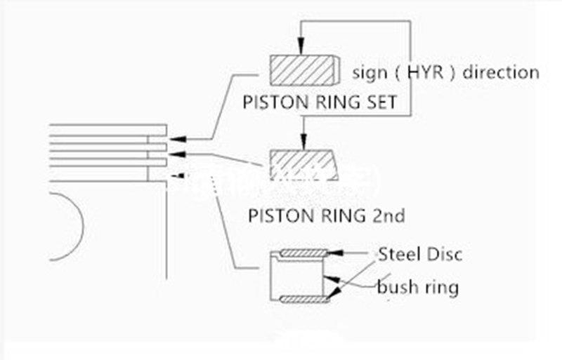 Chromium piston ring-1