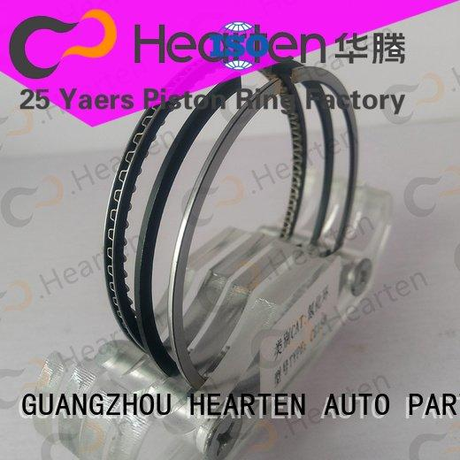Custom motorcycle engine parts chromium sealing titanium HEARTEN