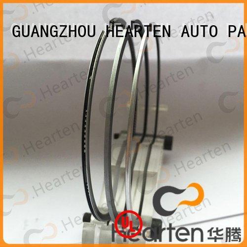 motorcycle piston rings sealing performance engine pvd