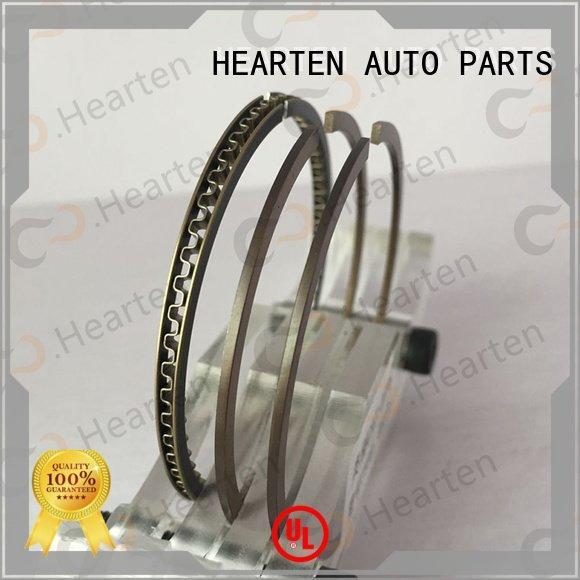 HEARTEN chromium titanium suitable motorcycle piston rings sealing