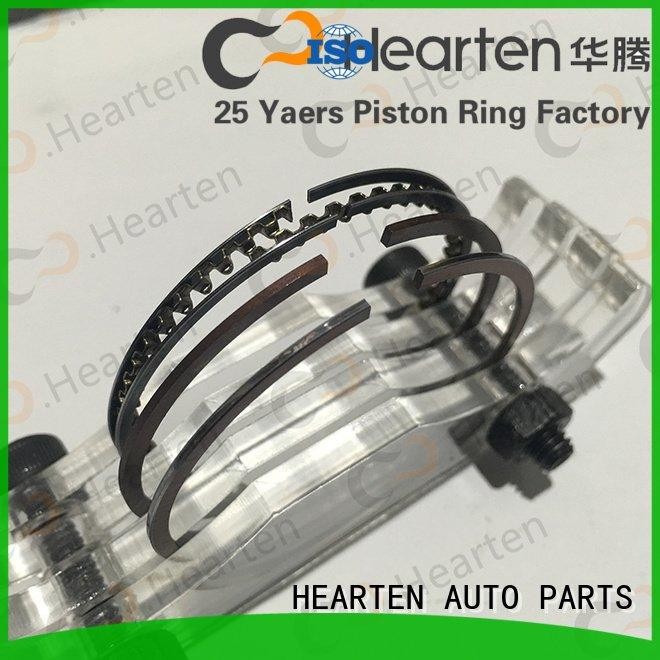 Custom pvd motorcycle engine parts wearresistant material motorcycle piston rings