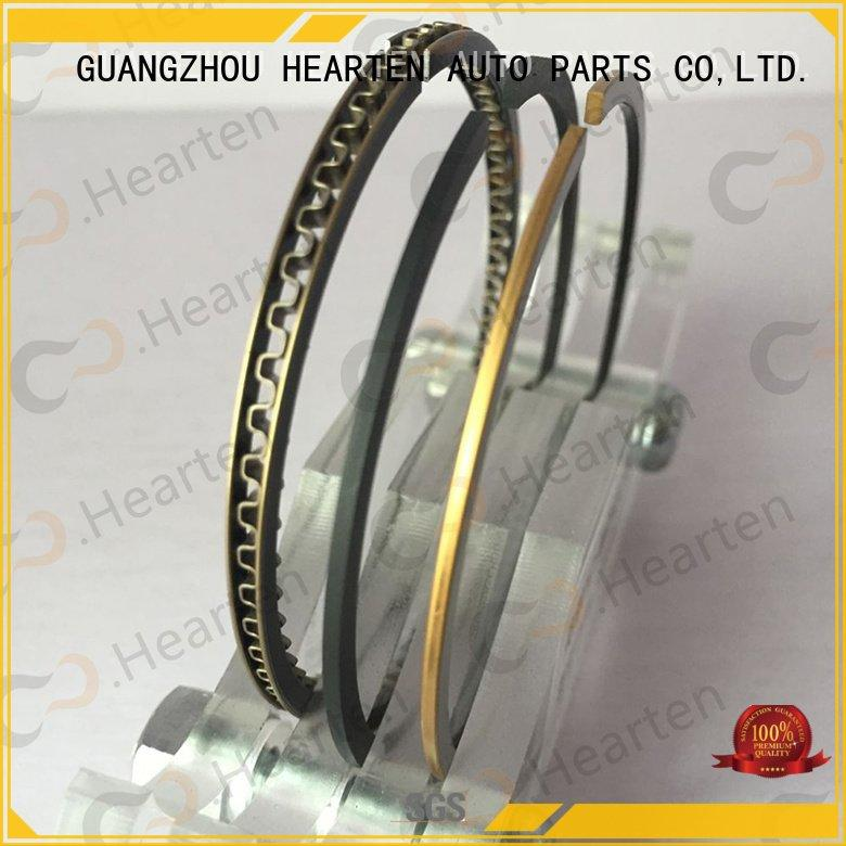 Hot motorcycle piston rings chromium motorcycle engine parts rings HEARTEN