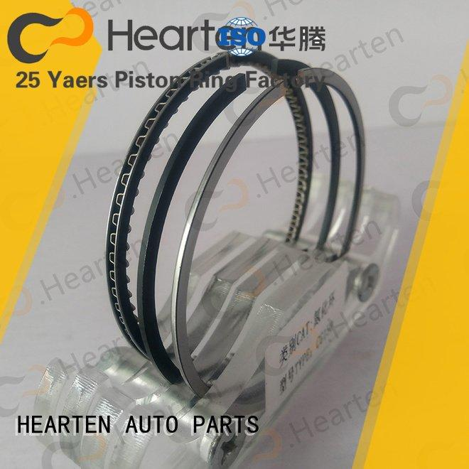 rings motorcycle engine parts titanium suitable HEARTEN