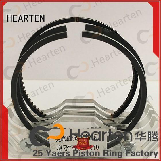 nodular cast iron mitsubishi piston rings chromium surface for machine HEARTEN
