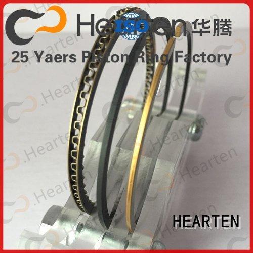 motorcycle piston rings ring nitriding titanium HEARTEN