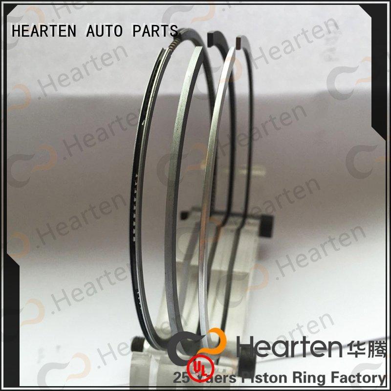 HEARTEN motorcycle piston rings titanium chromium engine suitable