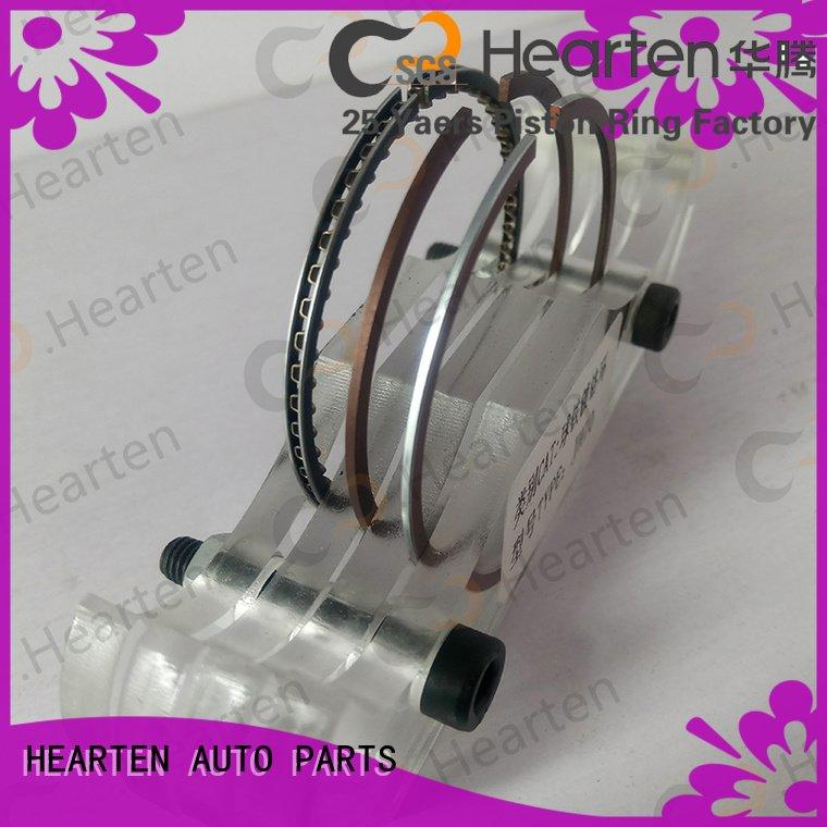 Hot motorcycle piston rings strong titanium performance HEARTEN Brand