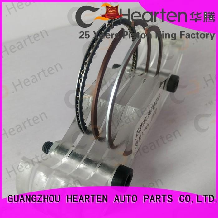 Chromium piston ring