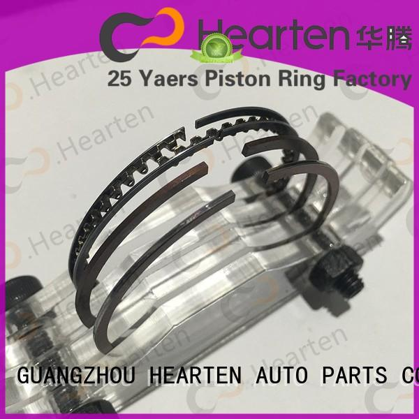 HEARTEN long lasting motorcycle pistons and rings factory direct supply for honda