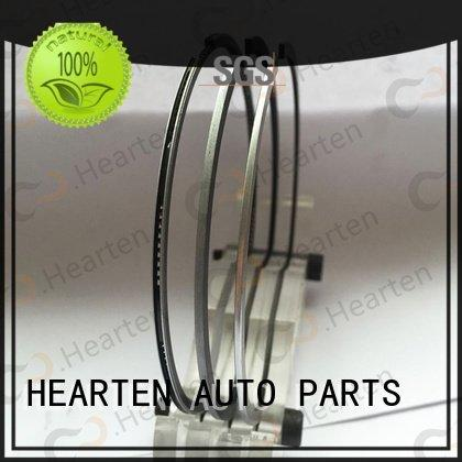 motorcycle piston rings suitable nitriding OEM motorcycle engine parts HEARTEN