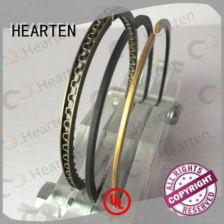 HEARTEN Brand titanium wearresistantmaterial motorcycle piston rings strong suitable