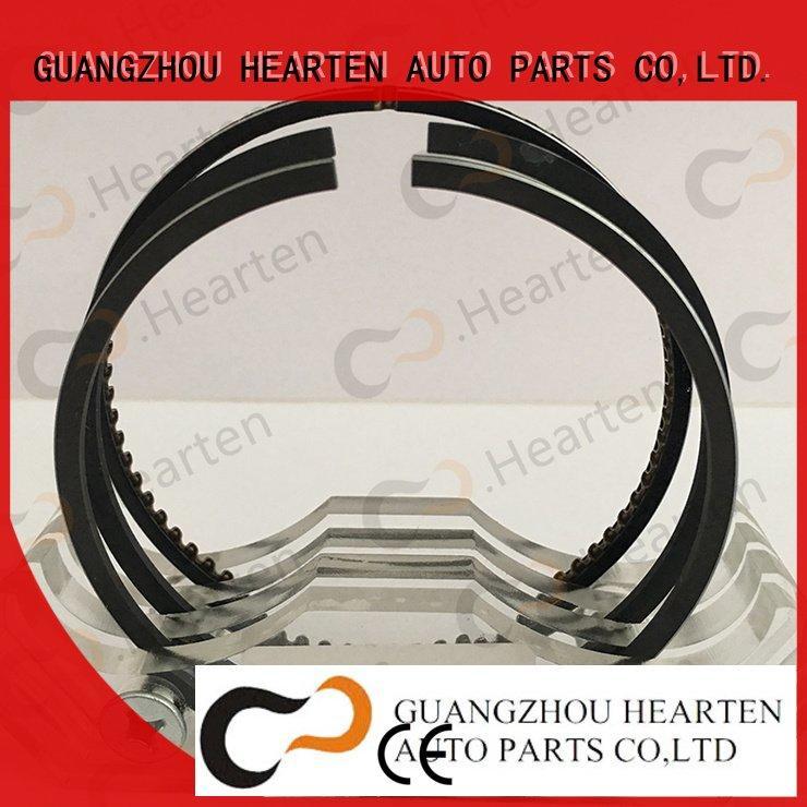 Hot auto engine parts sells engine piston rings paston HEARTEN